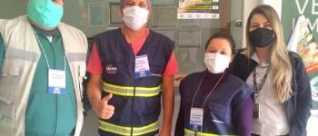 Fiscais Sanitários orientam empresas no combate ao coronavírus em Espera Feliz