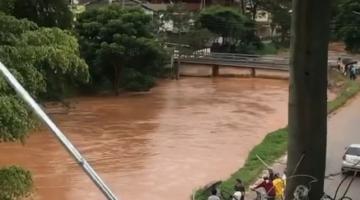 Espera Feliz sob ameaça de nova enchente