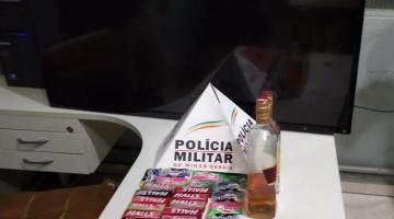 PM recupera materiais furtados de pizzaria em Espera Feliz
