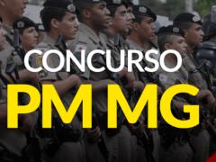Concurso Polícia Militar PMMG 2021: Sai edital com 1.653 vagas para Soldado
