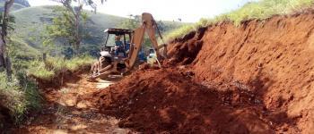 Prefeitura de Caiana intensifica manutenção de estradas rurais