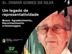 Prefeitura de Espera Feliz decreta Luto Oficial pelo falecimento do ex-prefeito e ex-vereador Sr. Osmar Gomes da Silva