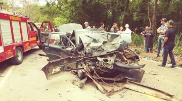 Grave acidente entre Reduto e Manhumirim