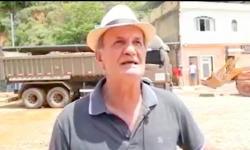 Prefeito Carlinhos Cabral agradece a ajuda de Muriaé