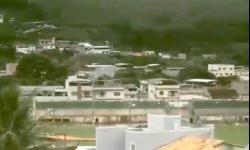 Comandante da Defesa Civil de Minas Gerais em visita a Espera Feliz para avaliar os estragos das enchentes na região.