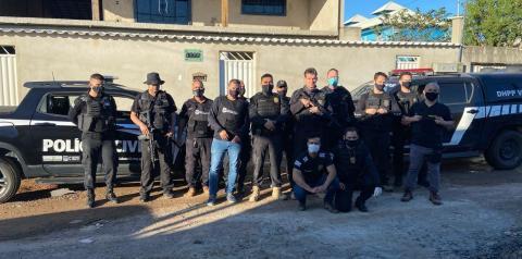 Suspeito de gerenciar tráfico de drogas é preso no ES pela PC de Manhumirim