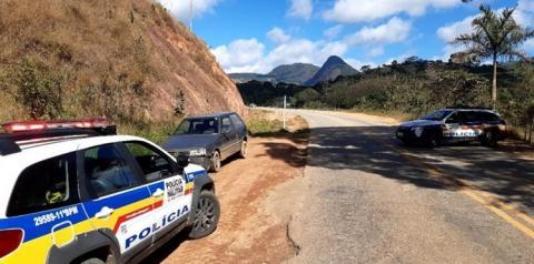 PM prende autora, e recupera material de furto em Alto Jequitibá