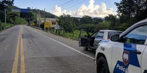 PM recupera veículos na região do Caparaó Capixaba