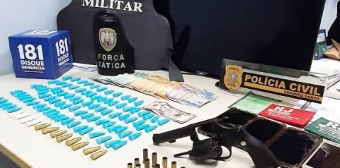 PC e PM realizam operação conjunta em combate ao tráfico de drogas em Guaçuí
