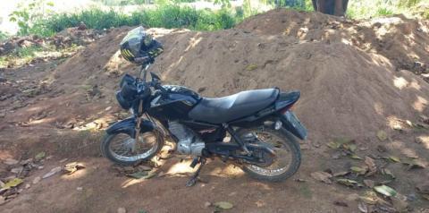 PM de Carangola recupera moto apropriada indevidamente em Manhumirim