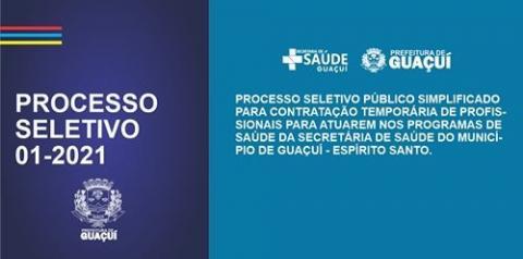 Prefeitura de Guaçuí abre Processo Seletivo com salários de até 11,5 mil