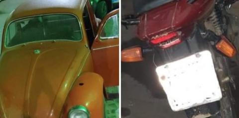 PM de Manhumirim prende autor de furto e recupera veículos