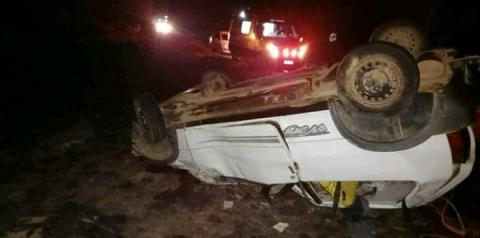 Acidente com vítima fatal entre Fervedouro e Divino