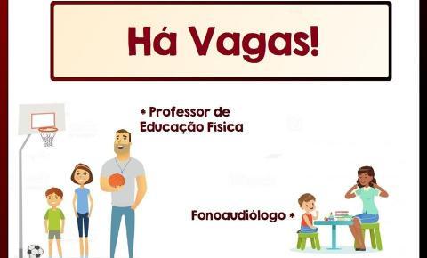 Abertas inscrições para contratação de Fonoaudiólogo e Professor de Educação Física em Caparaó
