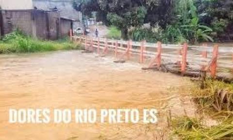Dores do Rio Preto decreta estado de calamidade pública