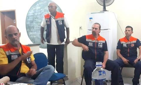 Espera Feliz recebe visita da Defesa Civil de São Paulo