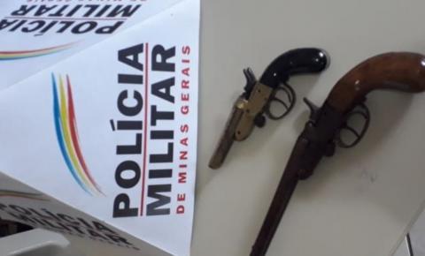 Duas armas são recolhidas em Caiana