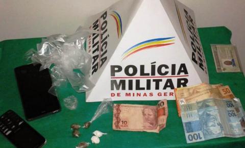 PM prende autores de tráfico de Drogas