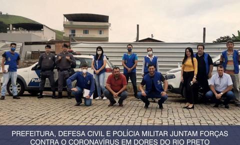 Dores do Rio Preto intensifica fiscalização nas ruas