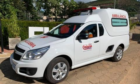 Prefeitura de Caiana recebe nova ambulância para o município