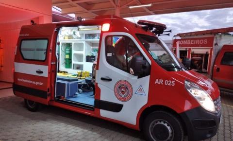 Bombeiros adquirem nova ambulância para atender 8 municípios do Caparaó Capixaba
