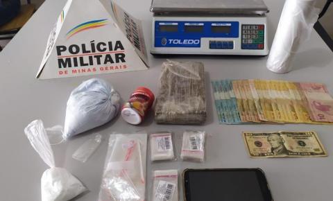 PM prende três pessoas por tráfico de drogas em Espera Feliz
