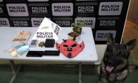 PM realiza operação e prende autores, apreende menores, drogas, dinheiro e material relacionado ao tráfico
