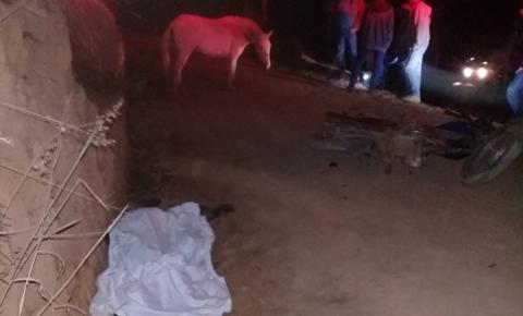 Motociclista morre ao bater em animal em zona rural de Orizânia
