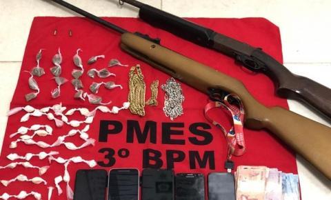 Suspeitos de fechar BR 482 para cometer roubos são detidos em Guaçuí