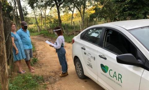 ES inicia trabalho de Cadastro Ambiental Rural