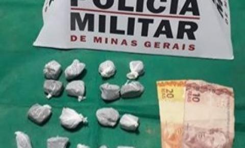 PM prende autores de tráfico de drogas em Caiana