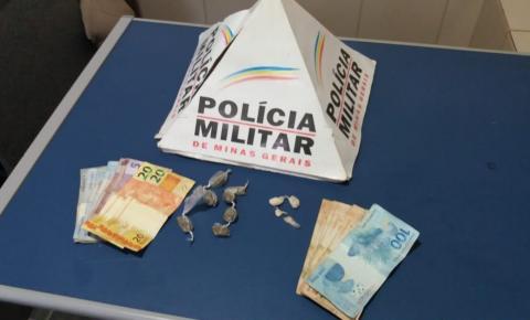 PM de Carangola prende menor por tráfico de drogas na rodoviária