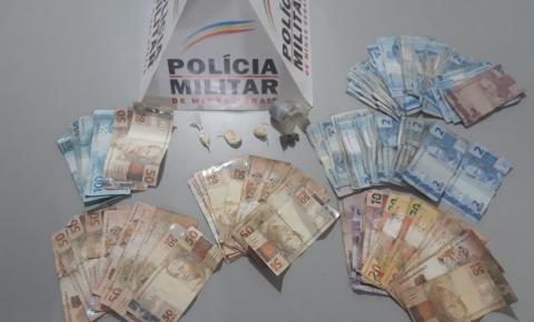 PM prende autores de tráfico de drogas em Fervedouro
