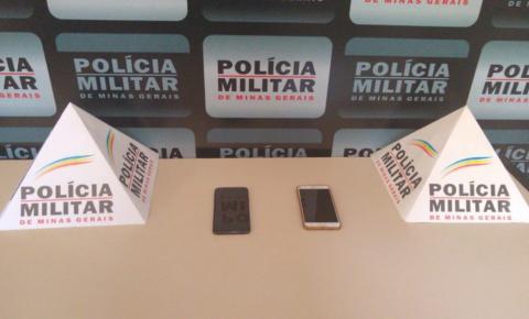 PM prende receptadores de celulares que foram produtos de roubos na região