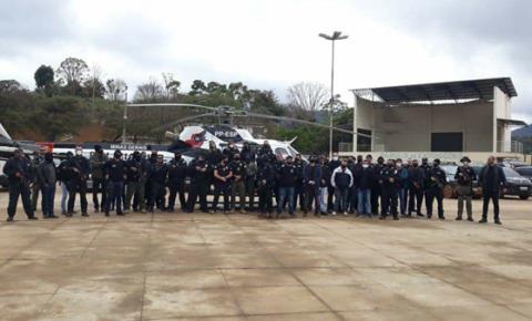 Megaoperação da PC contra o tráfico de drogas em Divino e cidades da região