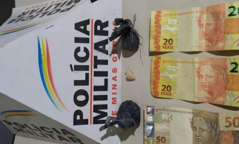 PM prende autores e apreende drogas em Caiana