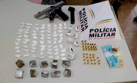 PM prende traficante de drogas na região de Alto Caparaó
