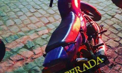 PM recupera moto roubada em Mundo Novo