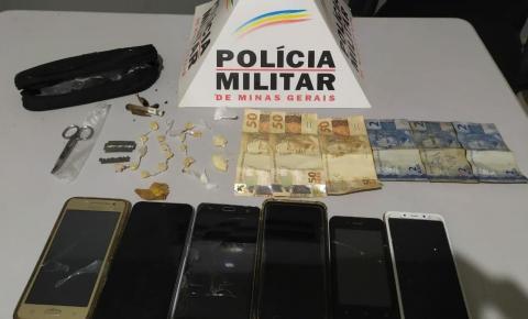 PM prende autores de tráfico e apreende drogas em Espera Feliz