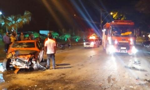 Mais um registro de acidente às margens da BR 482 em Guaçuí