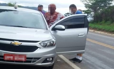 Taxista é agredido por bandidos após tentativa de assalto