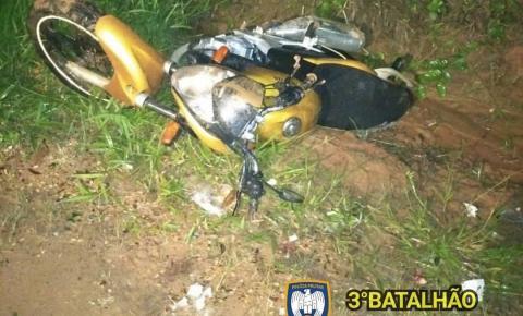 Moto é recuperada pela PM minutos após ser furtada em Guaçuí