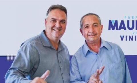 Maurício é reeleito Prefeito em Caiana