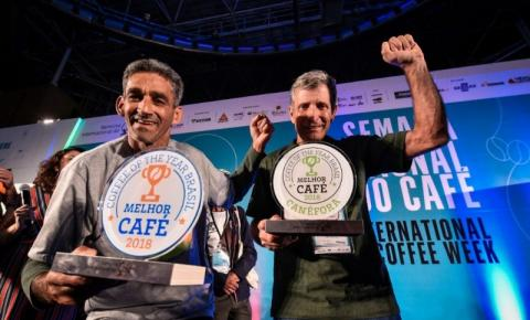 Produtores de Espera Feliz na disputa do Melhor Café do Ano