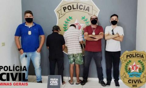 Polícia Civil de Espera Feliz cumpre mandados de prisão e prende dois acusados de estupros contra crianças