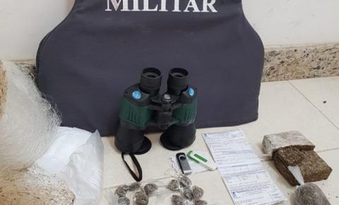 Dois são detidos e drogas apreendidas em operação contra o tráfico em Guaçuí