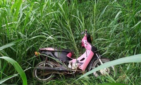 Motocicleta com chassi adulterado é encontrada pela PM em Guaçuí