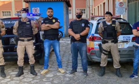 Operação das Polícias Civil e Militar resulta na prisão de dois suspeitos em Alto Jequitibá