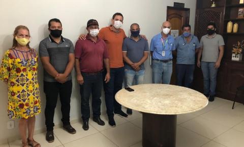 Prefeitura de Caparaó leva demandas à COPASA em reunião com a Gerência Regional