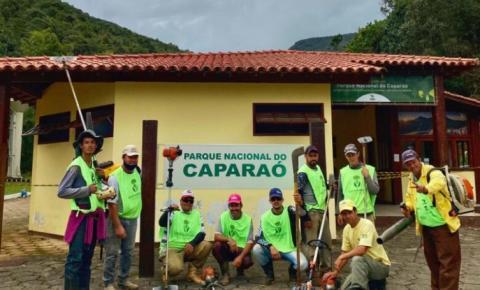 Voluntários se unem e fazem mais um mutirão no PARNA Caparaó